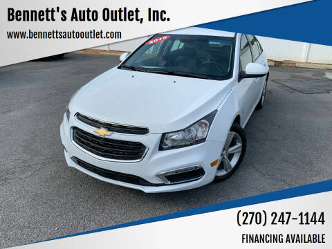2015 Chevrolet Cruze for sale at Bennett's Auto Outlet, Inc. in Mayfield KY