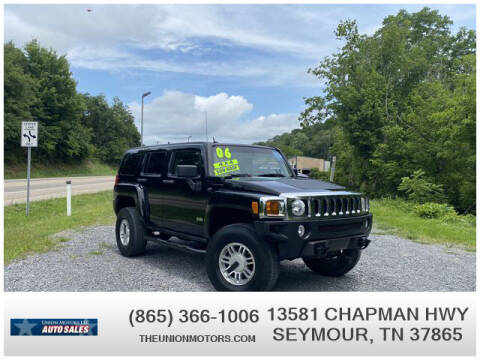 2006 HUMMER H3 for sale at Union Motors in Seymour TN