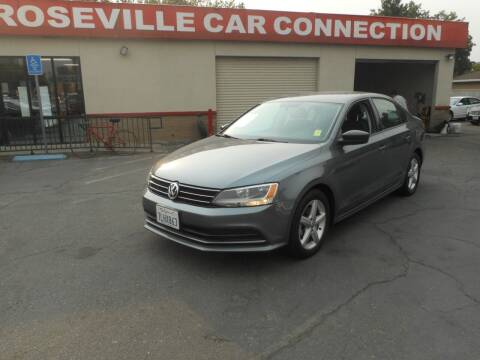 2016 Volkswagen Jetta for sale at ROSEVILLE CAR CONNECTION in Roseville CA