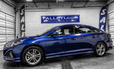 2019 Hyundai Sonata for sale at Falleti Motors, Inc.  est. 1976 in Batavia NY