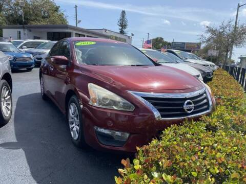 2015 Nissan Altima for sale at Mike Auto Sales in West Palm Beach FL