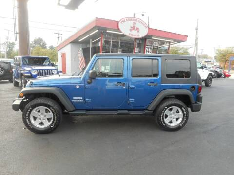 2010 Jeep Wrangler Unlimited for sale at The Carriage Company in Lancaster OH
