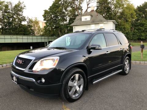 2012 GMC Acadia for sale at Mula Auto Group in Somerville NJ