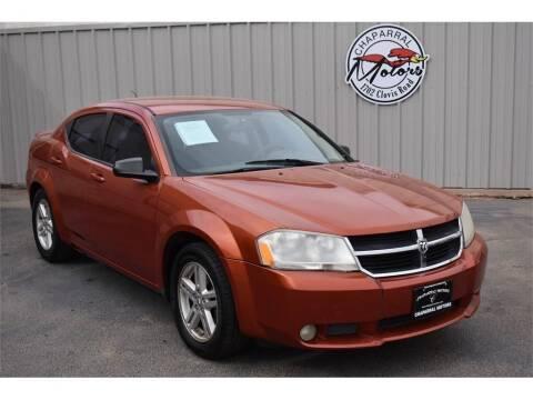 2008 Dodge Avenger for sale at Chaparral Motors in Lubbock TX