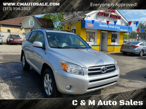 2007 Toyota RAV4 for sale at C & M Auto Sales in Detroit MI