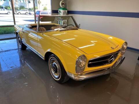 1964 Mercedes-Benz 230 SL Roadster 5 Speed for sale at Gallery Junction in Orange CA
