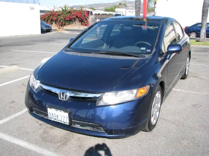 2007 Honda Civic for sale at M&N Auto Service & Sales in El Cajon CA
