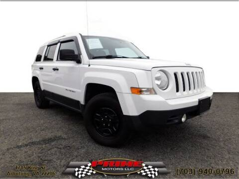 2014 Jeep Patriot for sale at PRIME MOTORS LLC in Arlington VA