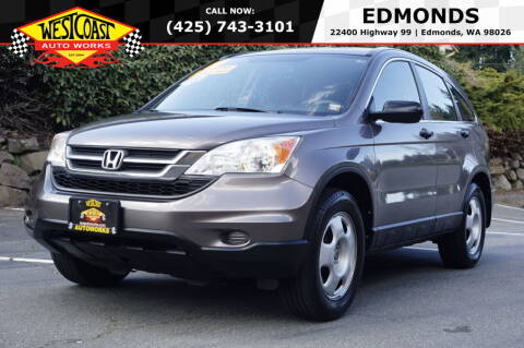 2010 Honda CR-V for sale at West Coast Auto Works in Edmonds WA