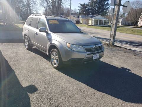 2009 Subaru Forester for sale at York Street Auto in Poultney VT