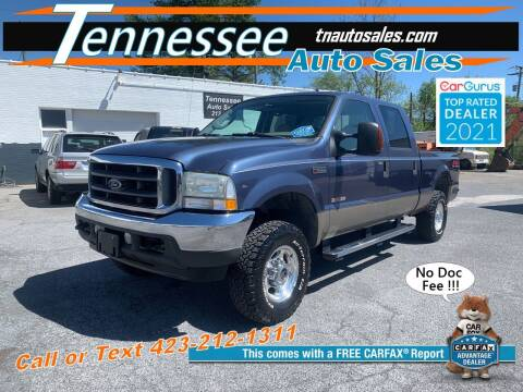 2004 Ford F-250 Super Duty for sale at Tennessee Auto Sales in Elizabethton TN