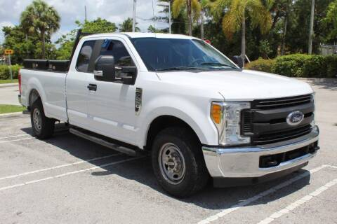 2017 Ford F-250 Super Duty for sale at Truck and Van Outlet in Miami FL