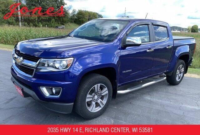 2015 Chevrolet Colorado for sale at Jones Chevrolet Buick Cadillac in Richland Center WI