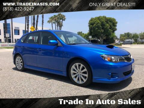 2008 Subaru Impreza for sale at Trade In Auto Sales in Van Nuys CA