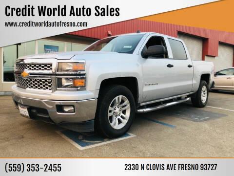 2014 Chevrolet Silverado 1500 for sale at Credit World Auto Sales in Fresno CA