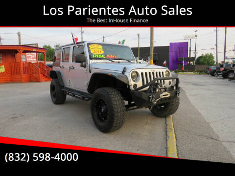 2011 Jeep Wrangler Unlimited for sale at Los Parientes Auto Sales in Houston TX