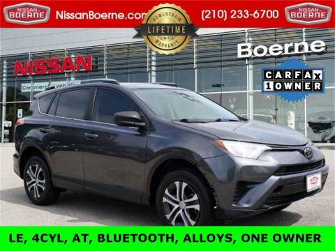 2018 Toyota RAV4 for sale at Nissan of Boerne in Boerne TX