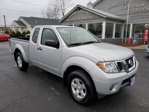 2012 Nissan Frontier for sale at Empire Alliance Inc. in West Coxsackie NY
