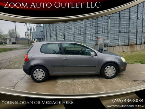2008 Volkswagen Rabbit for sale at Zoom Auto Outlet LLC in Thorntown IN
