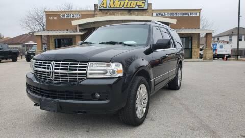 2013 Lincoln Navigator for sale at A MOTORS SALES AND FINANCE - 10110 West Loop 1604 N in San Antonio TX