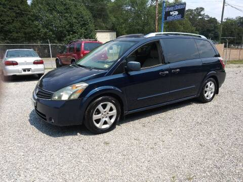 2007 Nissan Quest for sale at Sierra Motors in Roanoke VA