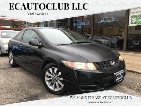 2009 Honda Civic for sale at ECAUTOCLUB LLC in Kent OH