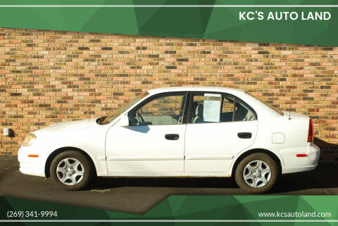 2004 Hyundai Accent for sale at KC'S Auto Land - Cash Cars in Kalamazoo MI