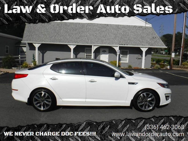 2014 Kia Optima for sale at Law & Order Auto Sales in Pilot Mountain NC