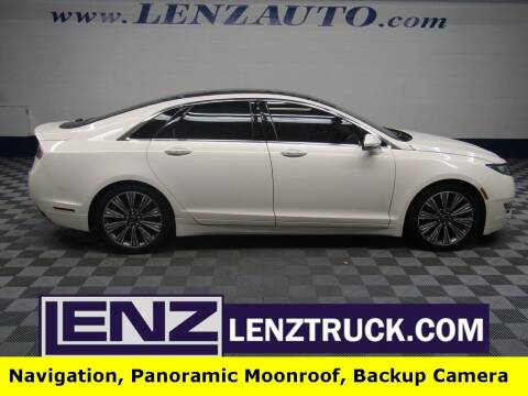 2016 Lincoln MKZ for sale at LENZ TRUCK CENTER in Fond Du Lac WI