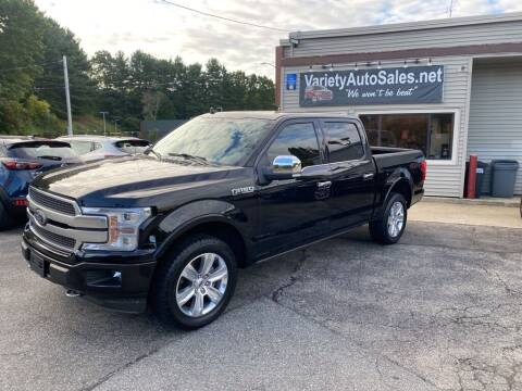 2018 Ford F-150 for sale at Variety Auto Sales in Worcester MA