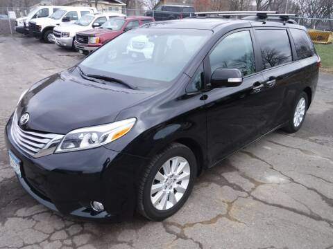 2015 Toyota Sienna for sale at J & K Auto - J and K in Saint Bonifacius MN