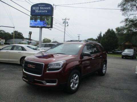 2015 GMC Acadia for sale at Mill Street Motors in Worcester MA