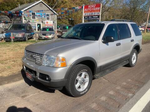 2003 Ford Explorer for sale at Korz Auto Farm in Kansas City KS