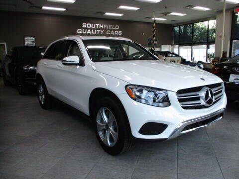 2017 Mercedes-Benz GLC for sale at SOUTHFIELD QUALITY CARS in Detroit MI