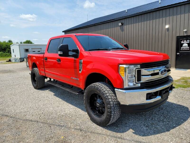 2017 Ford F-250 Super Duty for sale at J & S Auto Sales in Blissfield MI