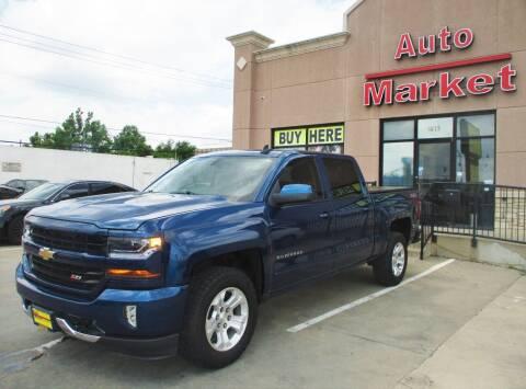 2017 Chevrolet Silverado 1500 for sale at Auto Market in Oklahoma City OK