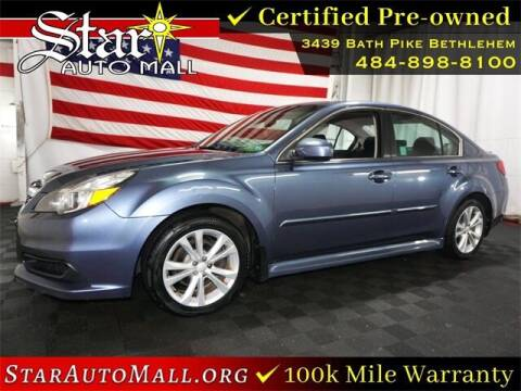 2014 Subaru Legacy for sale at STAR AUTO MALL 512 in Bethlehem PA