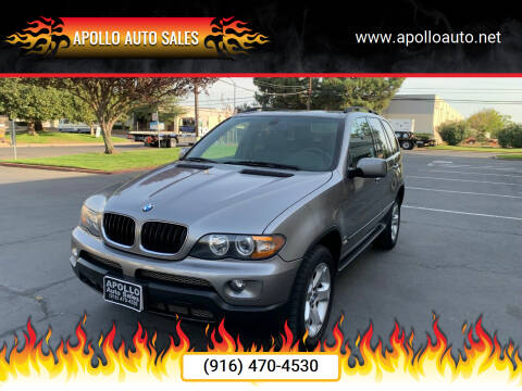 2006 BMW X5 for sale at APOLLO AUTO SALES in Sacramento CA