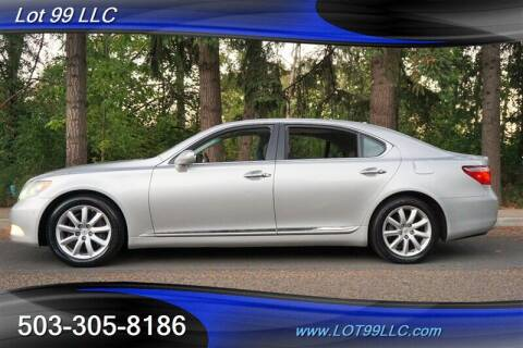 2007 Lexus LS 460 for sale at LOT 99 LLC in Milwaukie OR