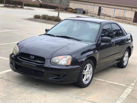 2005 Subaru Impreza for sale at Two Brothers Auto Sales in Loganville GA