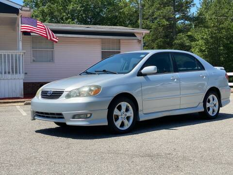 2006 Toyota Corolla for sale at CVC AUTO SALES in Durham NC
