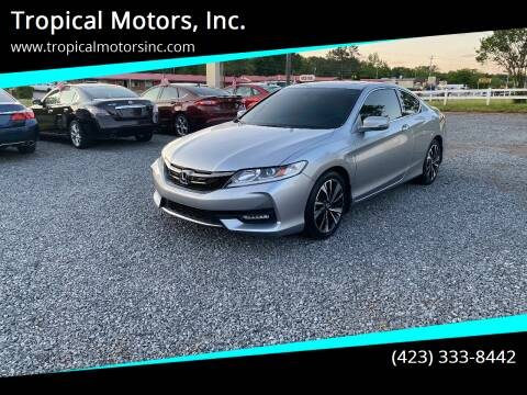 2016 Honda Accord for sale at Tropical Motors, Inc. in Riceville TN