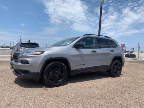 2017 Jeep Cherokee for sale at Primetime Auto in Corpus Christi TX