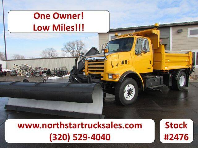 2000 Sterling L7500 Plow/Dump Truck with San for sale at NorthStar Truck Sales in St Cloud MN