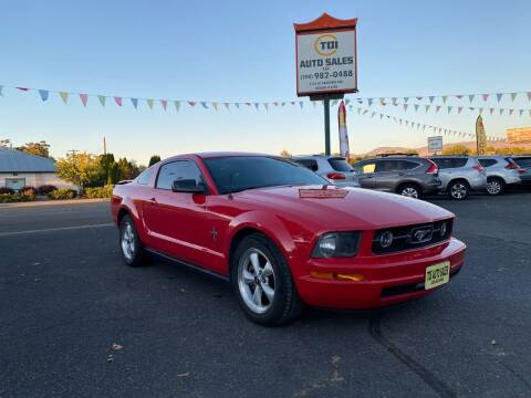 2007 Ford Mustang for sale at TDI AUTO SALES in Boise ID