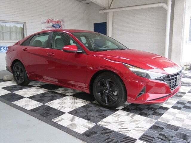 2021 Hyundai Elantra for sale at McLaughlin Ford in Sumter SC