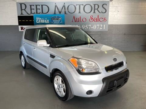 2011 Kia Soul for sale at REED MOTORS LLC in Phoenix AZ