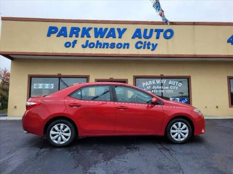 2016 Toyota Corolla for sale at PARKWAY AUTO SALES OF BRISTOL - PARKWAY AUTO JOHNSON CITY in Johnson City TN