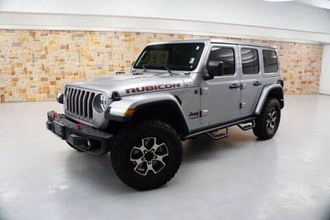 2019 Jeep Wrangler Unlimited for sale at Jerry's Buick GMC in Weatherford TX