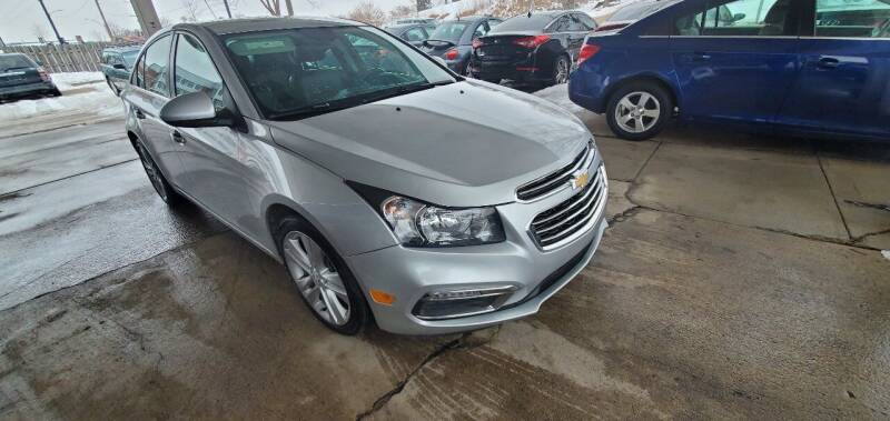 2016 Chevrolet Cruze Limited for sale at Divine Auto Sales LLC in Omaha NE